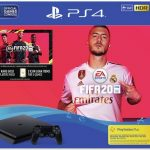 ps4 1tb console black with fifa 20