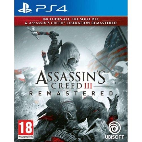 Ps4 Assassins Creed 3 Remastered Vivid Gold