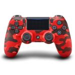 ps4 controller camo red wireless