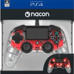 ps4 nacon compact light red