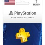 psn us 1 month membership new