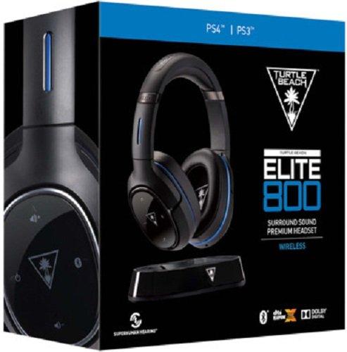 Turtle Beach Elite 800 Premium Wireless Surround Sound Ps4 Vivid Gold